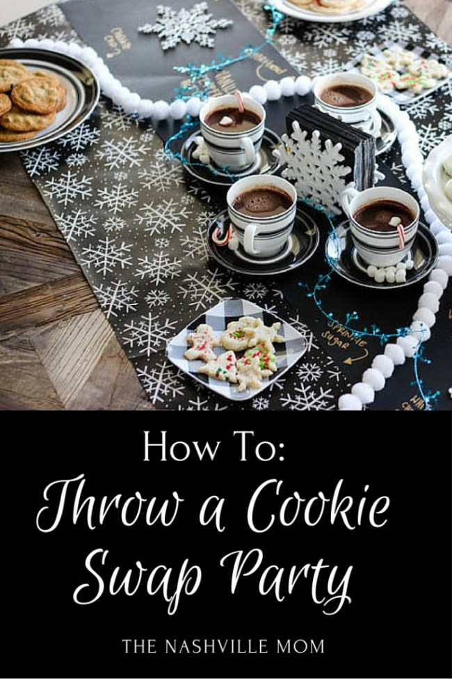 How to throw a cookie swap party #HolidaywithGlade