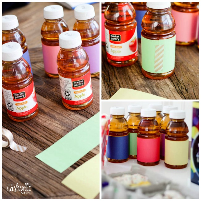 Fun drinks for an Inside Out movie Night