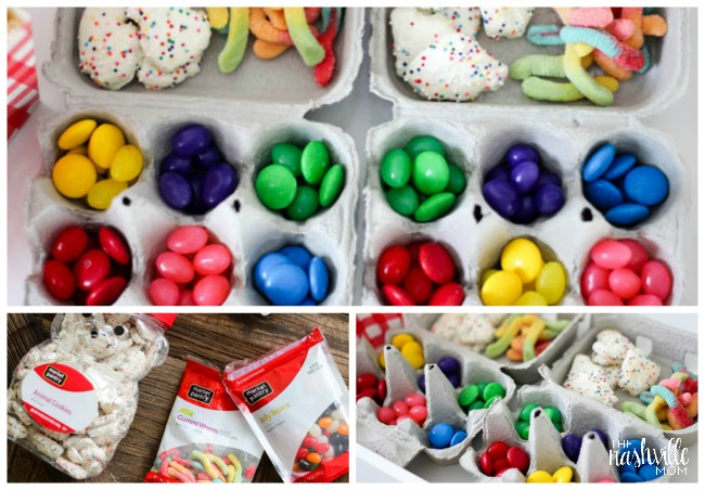 Fun snacks for an Inside Out Movie Night