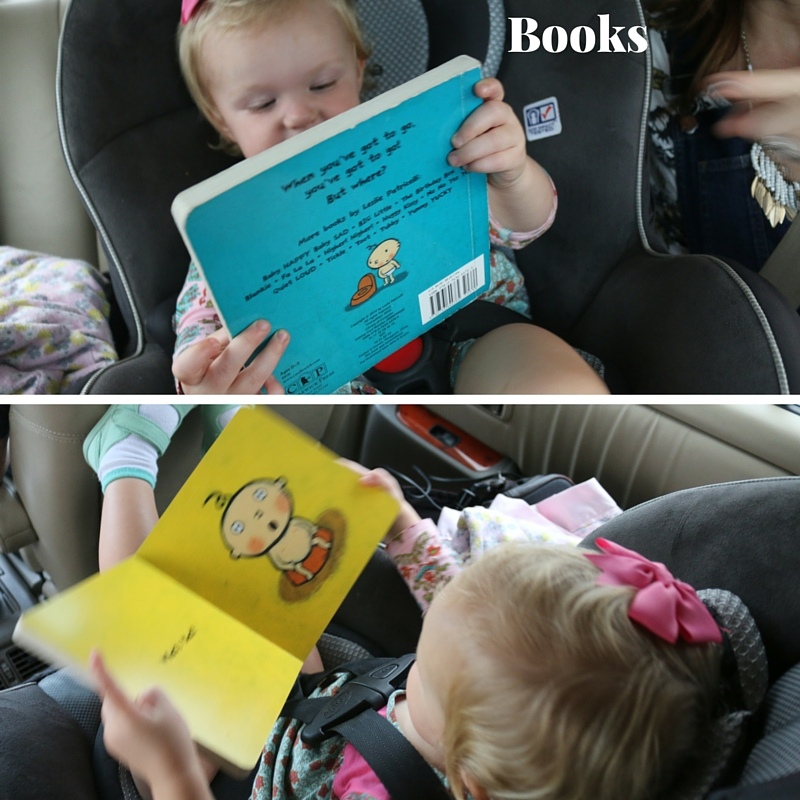 toddler books on a trip