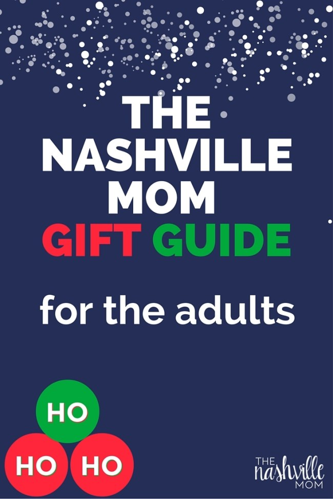 Nashville local gift guide for the adults!