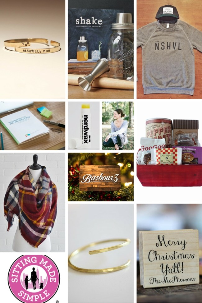 Nashville local gift guide for the adults