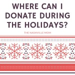 Where Can I Donate During the Holidays?