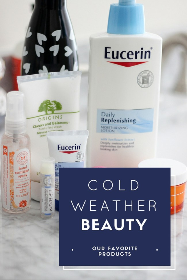 Cold Weather Beauty Favorites