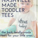 Nashville-made Toddler Tees