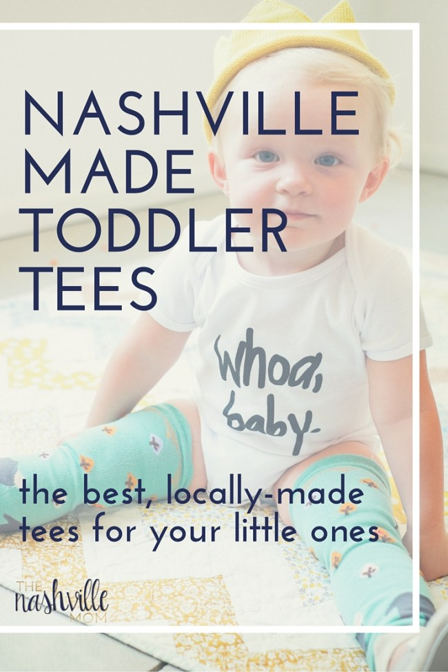 Toddler tees from Nashville makers