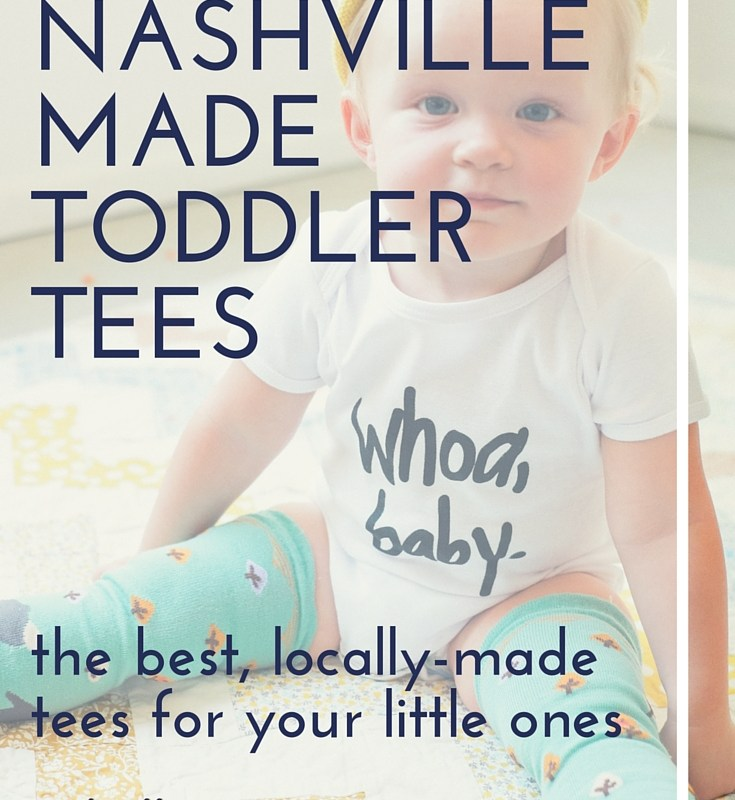 Nashville-made Toddler Tees