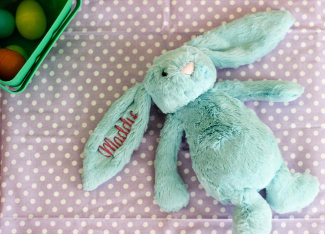 peekawhoo monogrammed jellycat bunnies