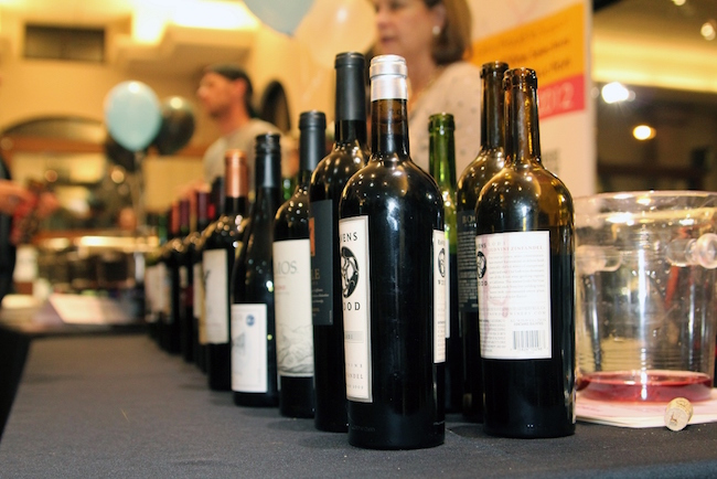 RMHC Triple Sip Wine Table Setup