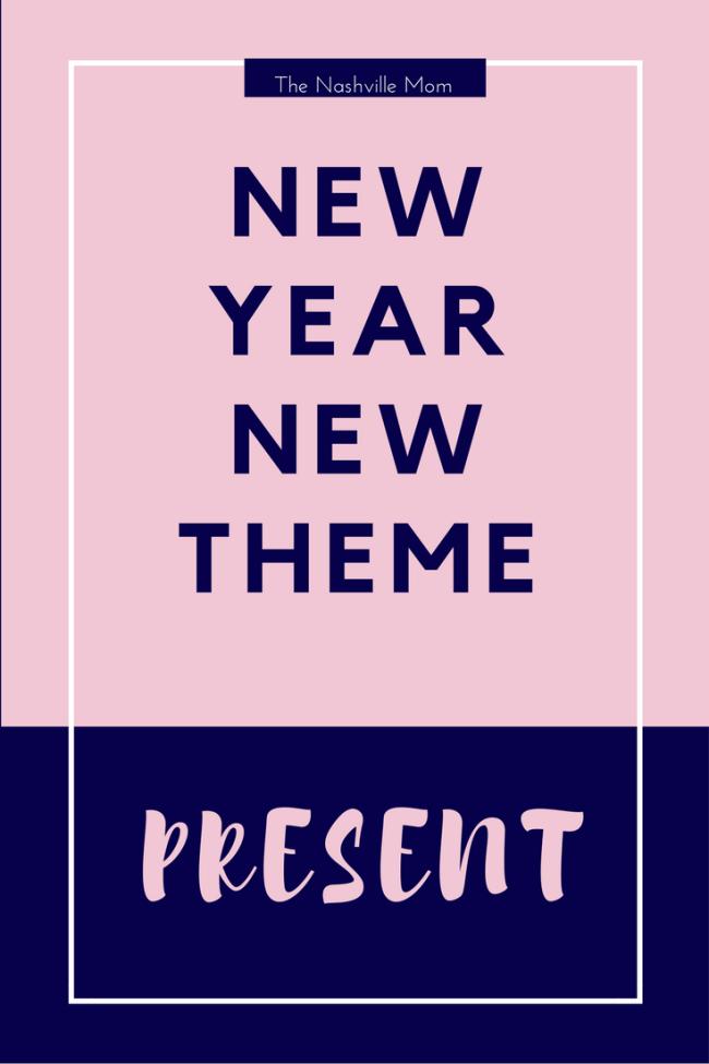 New Year Theme: Present