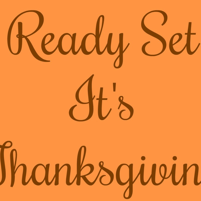 Ready Set It's Thanksgiving with Babbleboxx