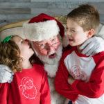 Santa Pictures with Little Nest Portraits Nashville