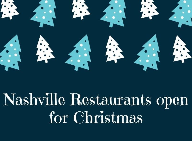 Restaurants Open for Christmas