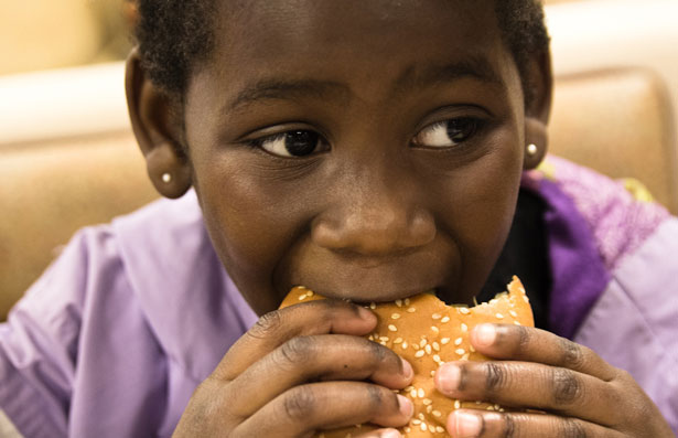 Image result for black person eating food