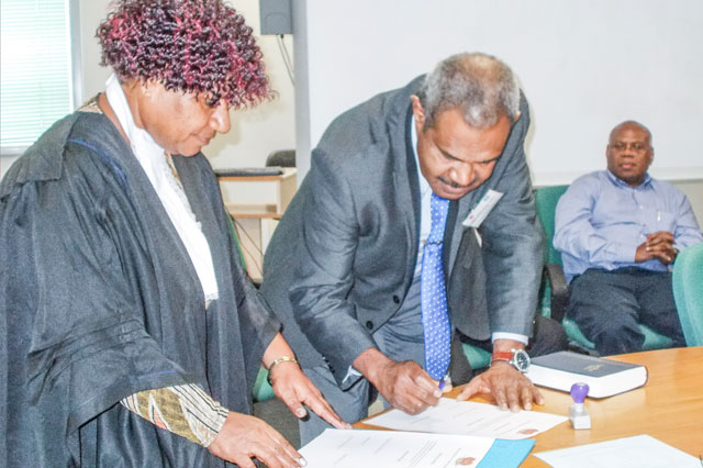 PNG medical board swears in 8 new members - The National
