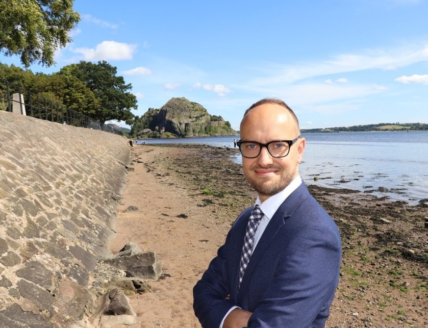 Senior SNP activist Toni Giugliano has strong family connections to the Dumbarton constituency
