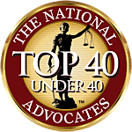 Advocates top 40 member seal - Attorney AnnMarie Jenkinson