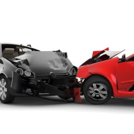 Accident with two cars