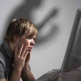 Conviction upheld under NC law prohibiting cyber-bullying against minors.