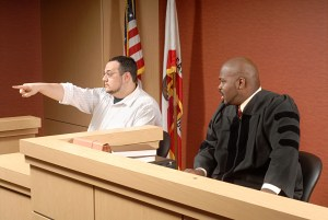 courtroom witness