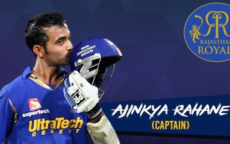 rajasthan royals to play in ajinkya rahane captaincy