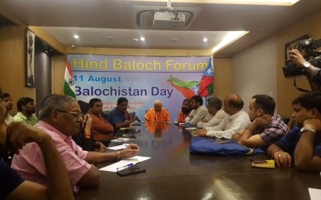 बलूचिस्तान दिवस | Hind Baloch Forum celebrating Balochistan day in New Delhi at Constitution Club
