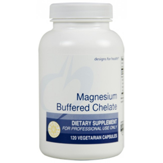 Designs For Health Magnesium Buffered Chelate 120 Veggie ...