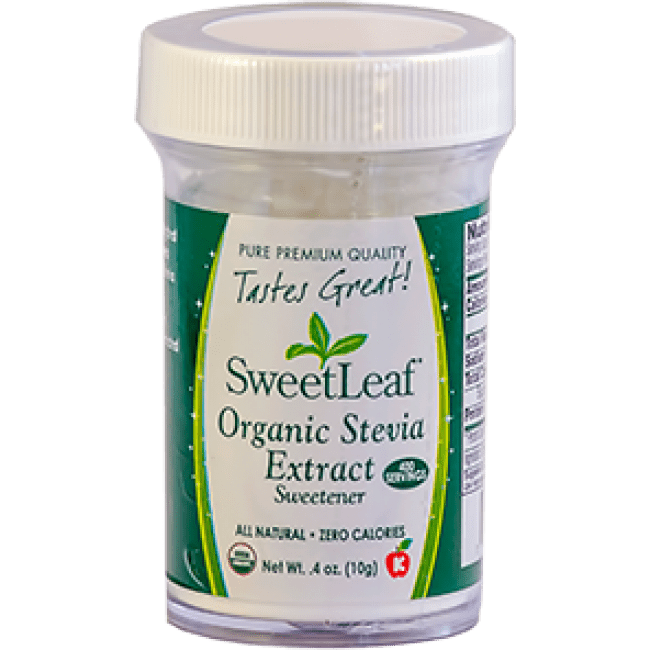 Sweet Leaf Organic Stevia Extract 10 g Powder -The Natural