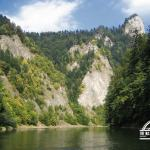 self guided hiking, Carpatian mountains, Poland, Dunajec gorge 1