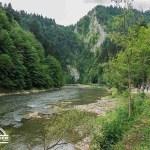 self guided hiking, Carpatian mountains, Poland, Dunajec river