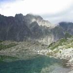 self guided hiking, Carpatian mountains, Poland, lake reflections