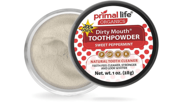 Primal Life Organic Dirty Mouth Tooth Powder