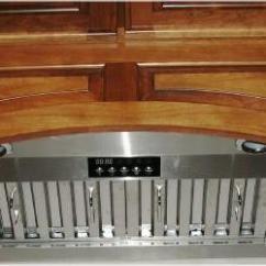 Kitchen Vent Hood Modern Cabinets For Sale Kobe Premium Series Stainless Steel Chimney Range Built Inside Cabinet Insert Hoods