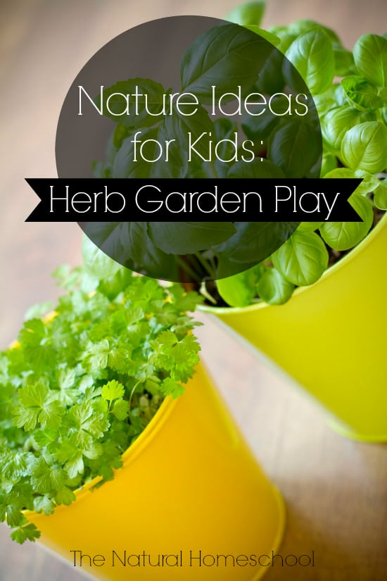 Nature Ideas For Kids Herb Garden Play The Natural