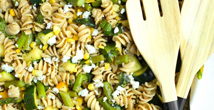 GRILLED VEGETABLE KAMUT PASTA SALAD