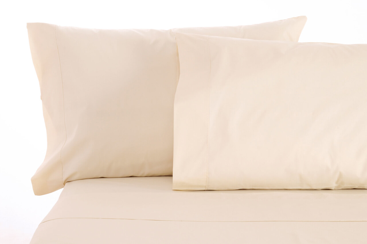 sleep beyond 100 organic cotton pillow case pair king 20x40