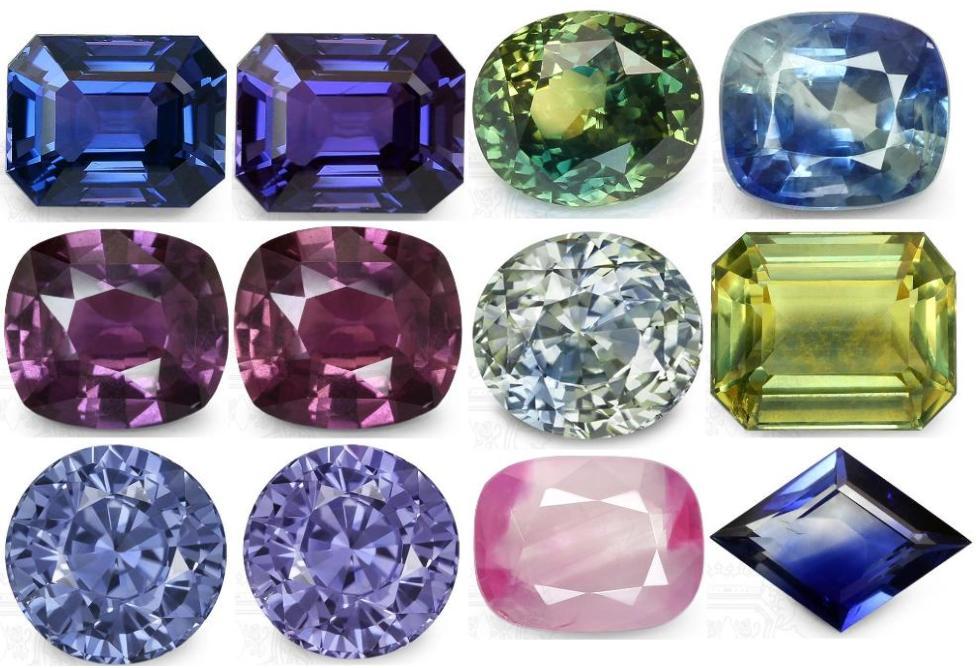 Color Change  BiColor Sapphires  The Chameleon Gems