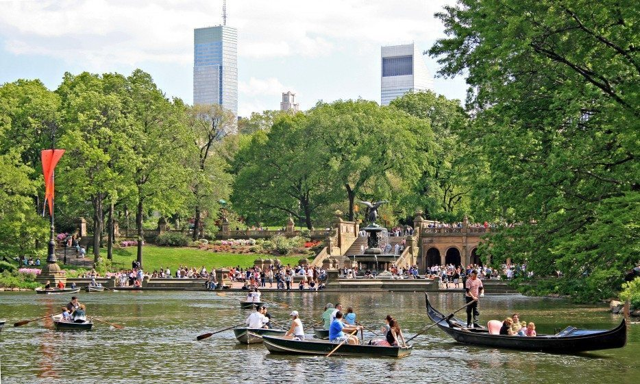 Bethesda Fountain, Central Park, 2009