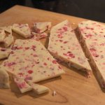 White Chocolate Christmas Bark Gluten Free