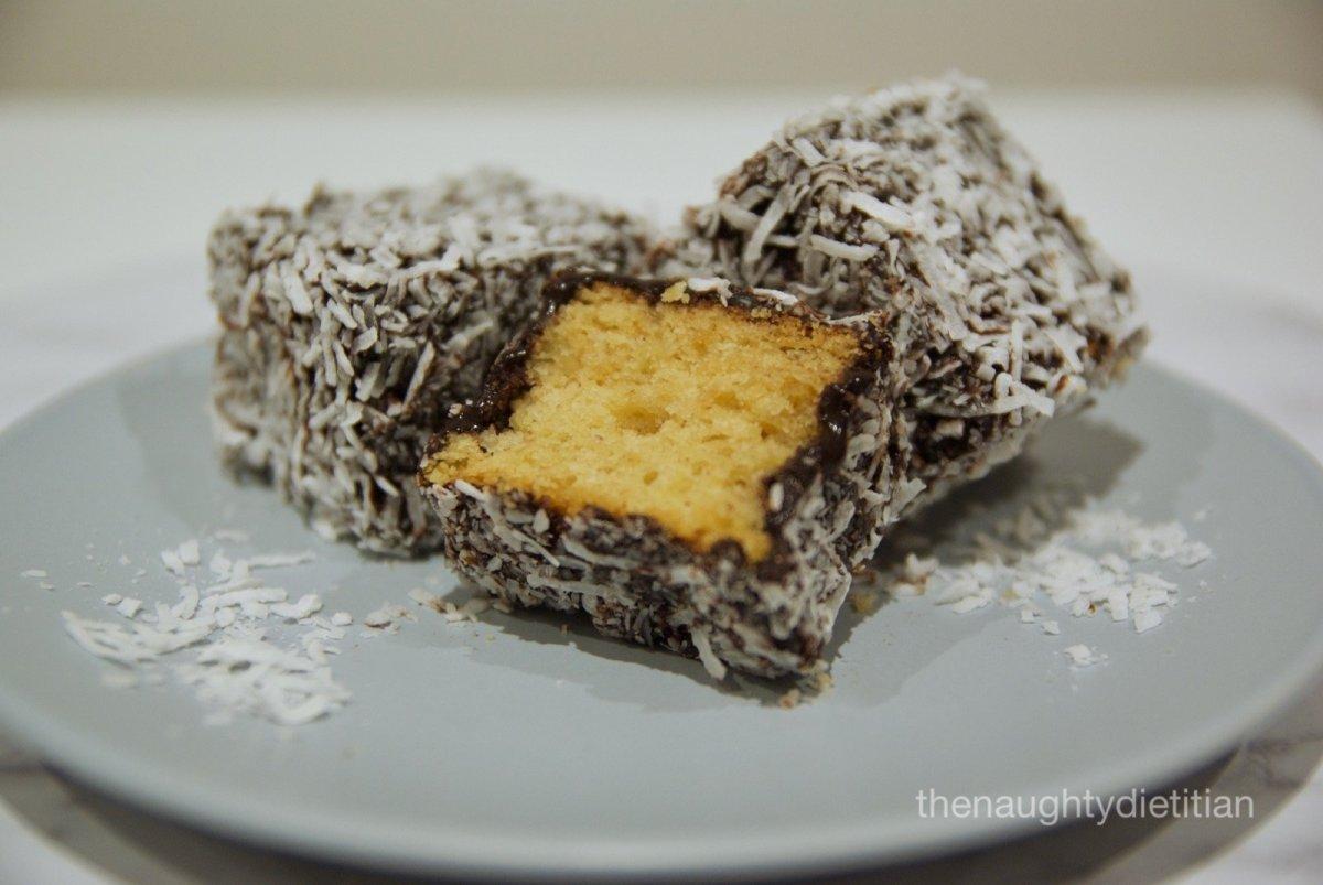 Gluten Free Chocolate Lamingtons