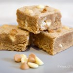 Peanut Butter White Chocolate Blondies Gluten Free