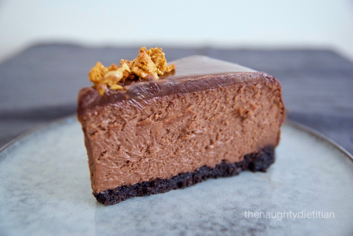 Gluten Free Nutella Cheesecake
