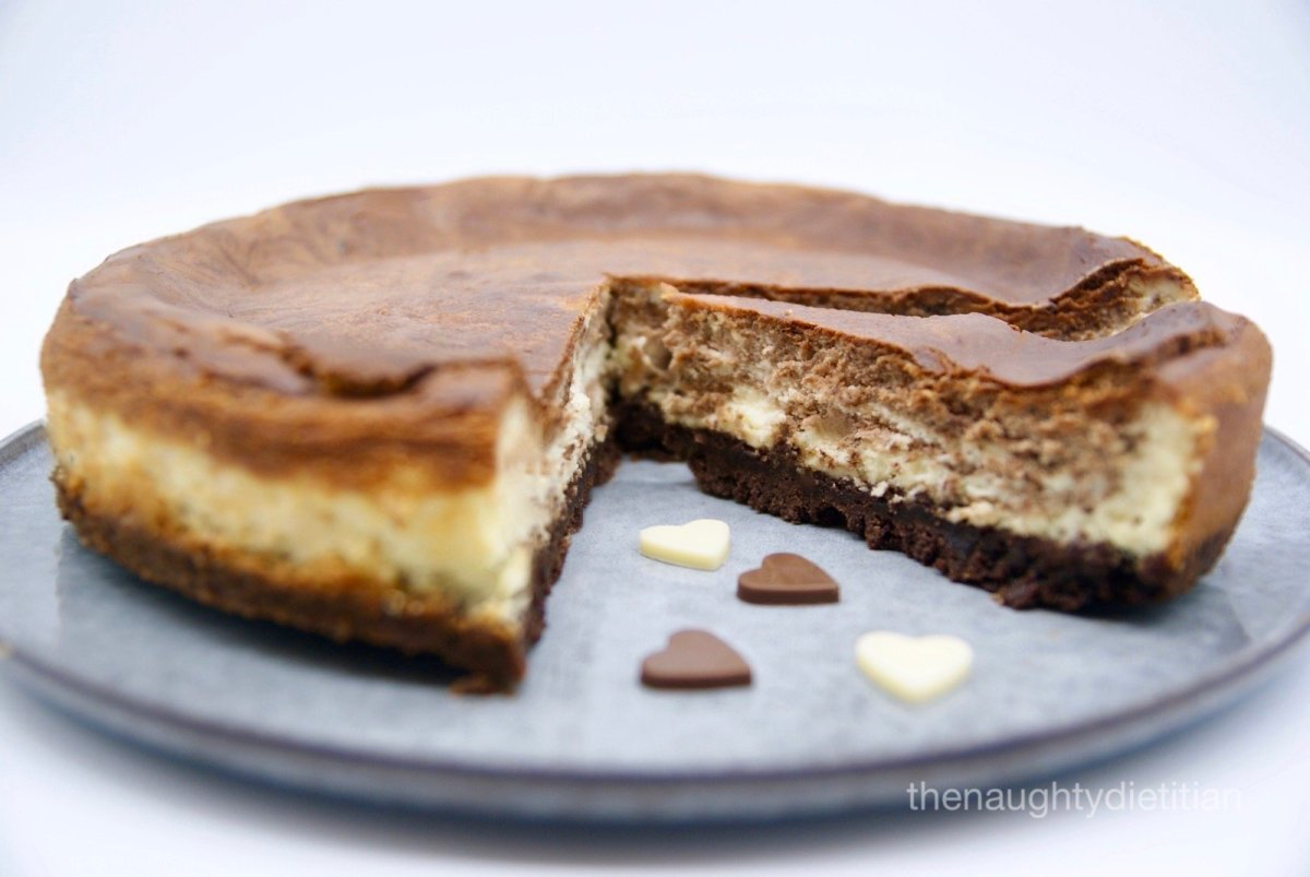 Chocolate Ripple Cheesecake Gluten Free