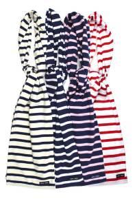 Cotton Breton Stripe Scarf Saint James - THE NAUTICAL ...