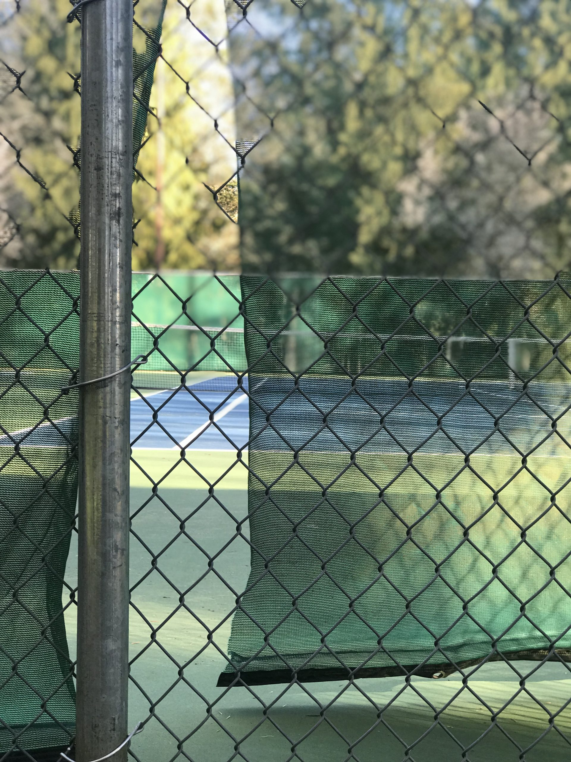 Tennis Courts abandoned
