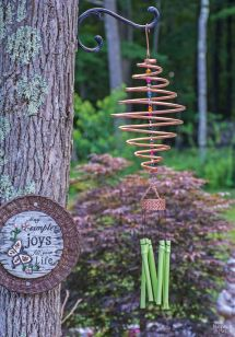 Copper Wind Chimes DIY