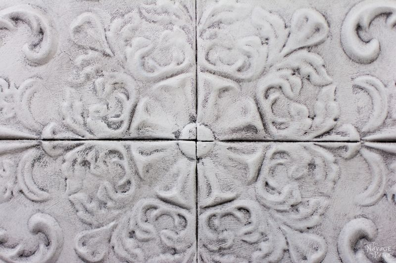White Metal Wall Decor metal wall decor makeover - the navage patch