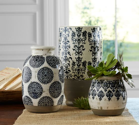 Ceramic Vase Makeover Inspired By Pottery Barn The