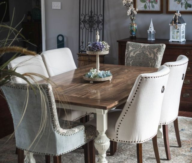 Inexpensive Dining Chairs And Dining Room Decor Tips How To Decorate A Dining Room