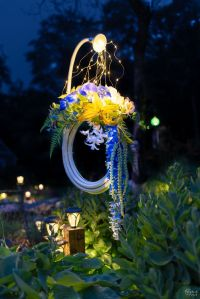 Lighted Garden Hose Wreath Tutorial - The Navage Patch